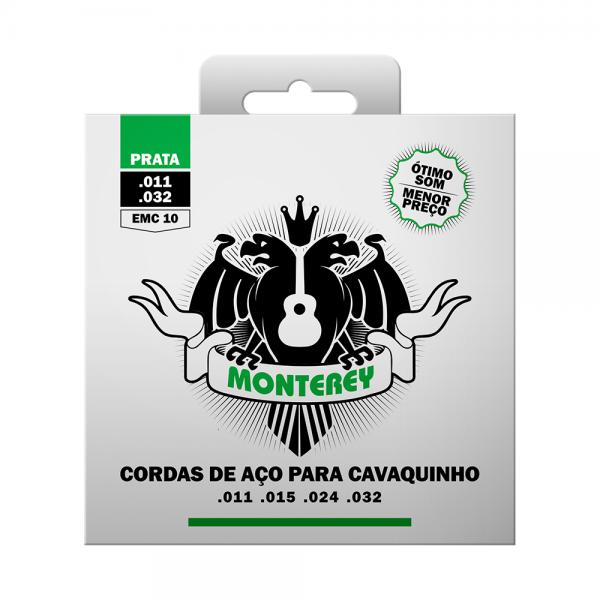 Encordoamento Monterey aço para cavaquinho leve calibre 0.011/0.032