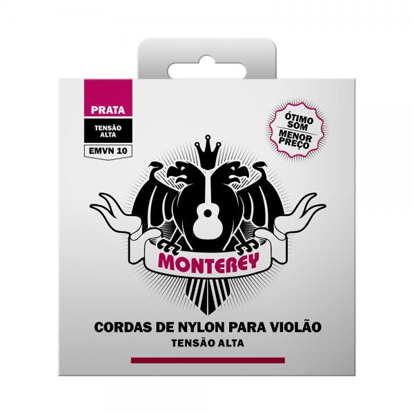 Encordoamento Monterey nylon para violão tensão alta