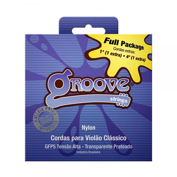Encordoamento Groove para violão clássico nylon Full Package