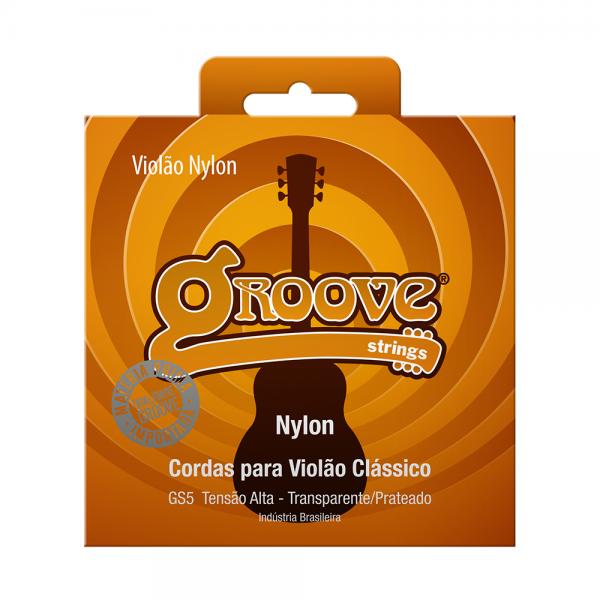 Encordoamento Groove para violão clássico tensão alta