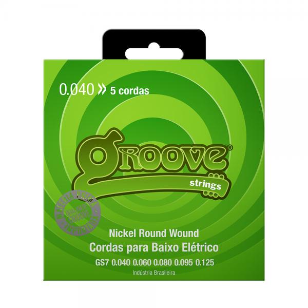 Encordoamento Groove para baixo calibre 0.040/0.125