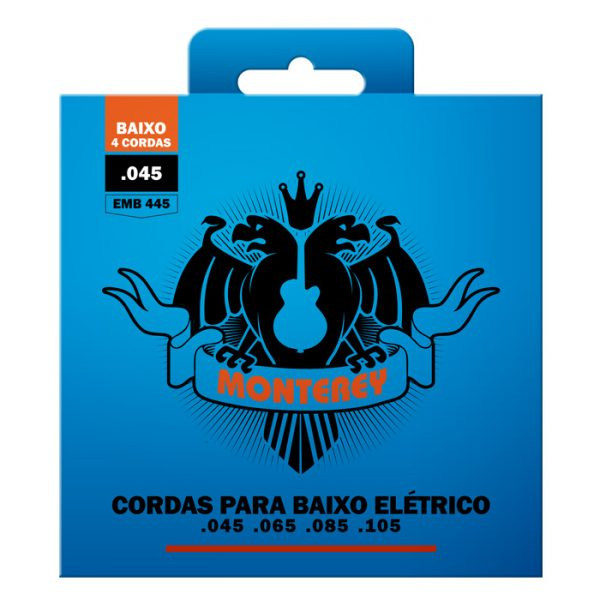 "EMB445 - Monterey 4-String / 0.045 ""Double Bass Strings"