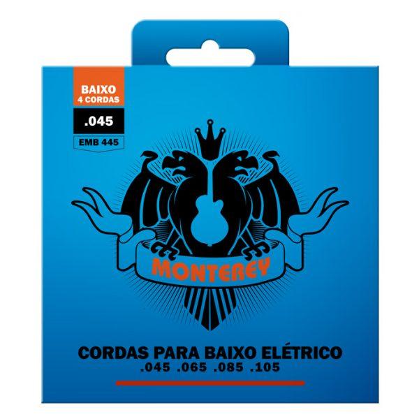 """EMB445 – Encordoamento para Contrabaixo Monterey 4 Cordas / Calibre 0.045"""""""