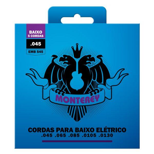 """EMB545 – Encordoamento para Contrabaixo Monterey 5 Cordas / Calibre 0.045"""""""