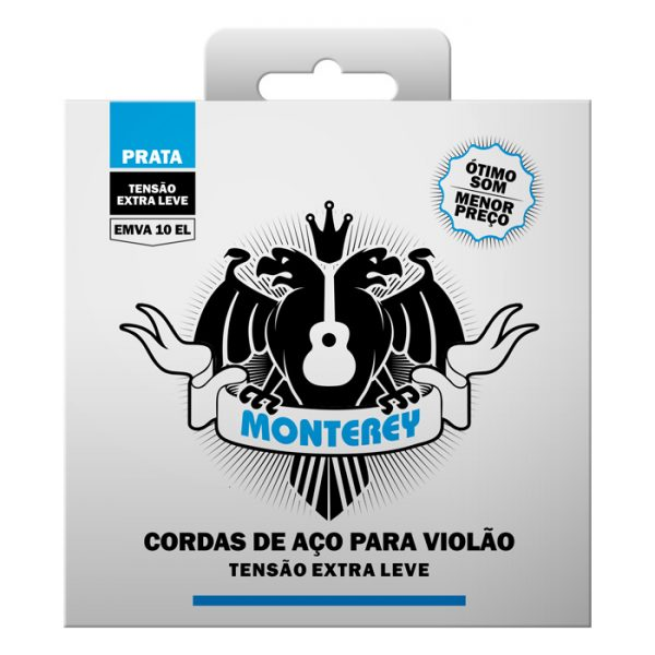 EMVA10 EL - Extra Light Tension for Monterey Steel Guitar Strings