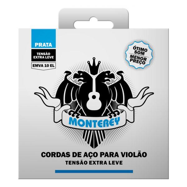 EMVA10 EL – Encordoamento para Violão Aço Monterey Tensão Extra Leve
