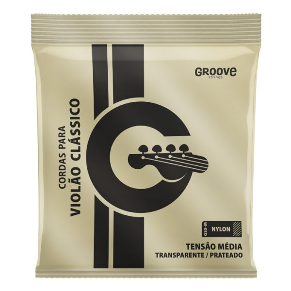 GS5M - Groove Strings for Nylon Medium Voltage Guitar