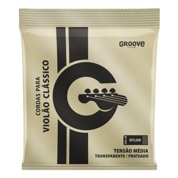 GS5M – Encordoamento Groove para Violão Nylon Média Tensão