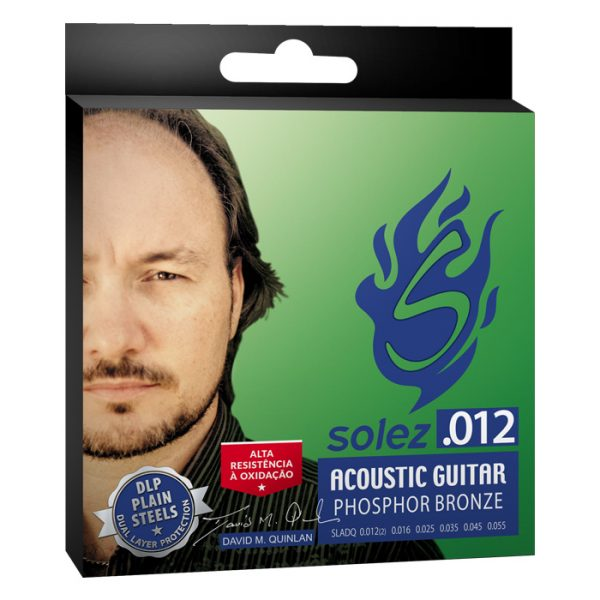 "SLADQ - Solez Strings for Guitar Steel 0.012 ""Signature David Quinlan"
