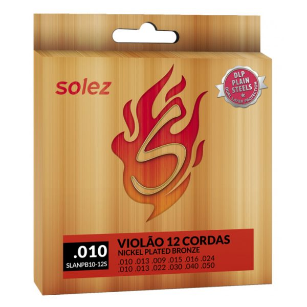 SLANPB10 12S - Solez Strings for 12 String Guitar