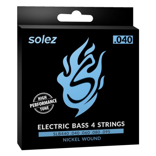SLB440 - Solez Strings for Double Bass 0.040 Gauge