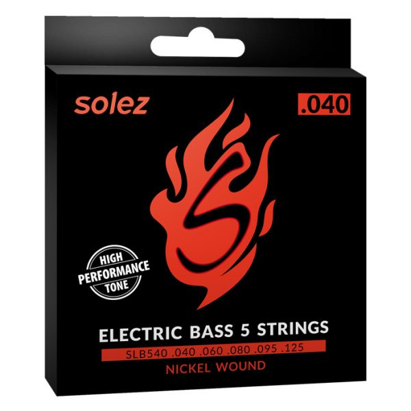 SLB540 - Solez Strings for Double Bass 5 Strings 0.040 Caliber