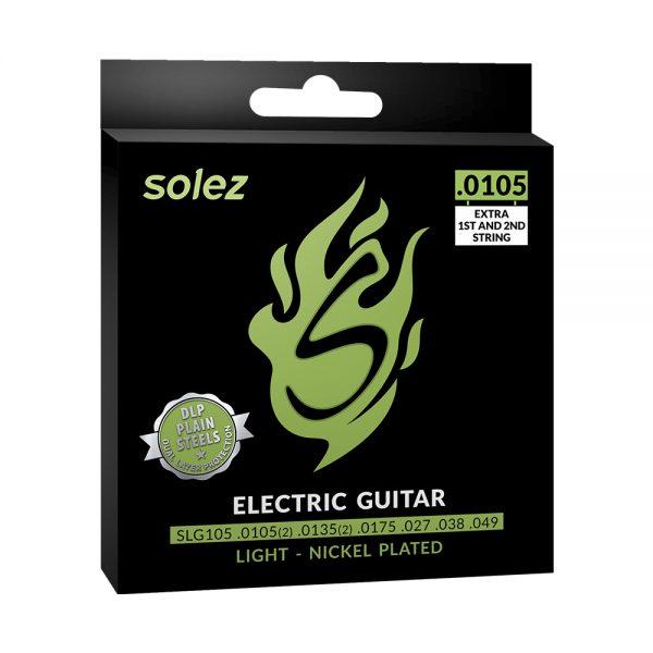 """SLG105 – Encordoamento Solez para guitarra elétrica 0.0105/0.048"""""""