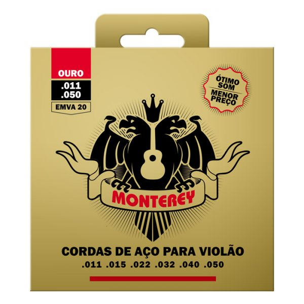 EMVA20 - Guitar Strings Monterey Steel Extra Light Tension