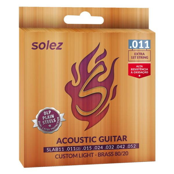 SLAB11 - Solez String for Brass Steel 80/20 Solez 0.011 ""