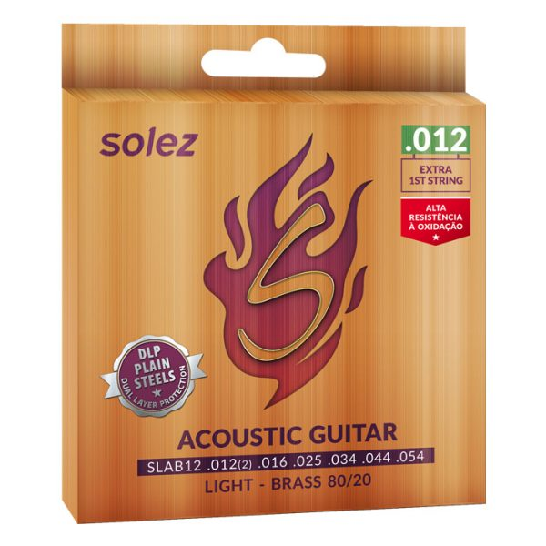 SLAB12 - Solez String for Brass Steel 80/20 Solez 0.012 ""