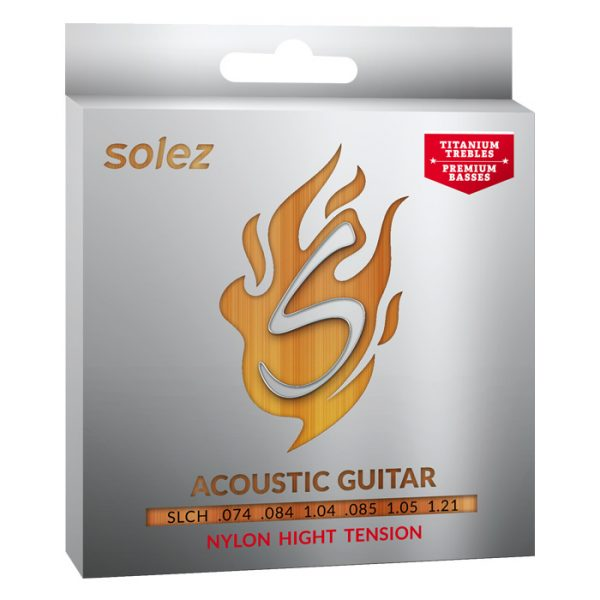 SLCH - Solez Strings for Nylon Guitar - High Voltage