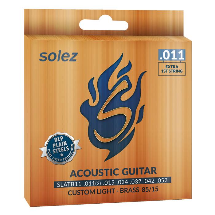 SLATB11 - Cuerda de acero Solez Bronze para guitarra 85/15