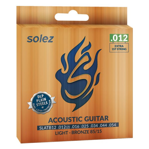 SLATB12 - Solez Bronze Steel String for 85/15 Guitar